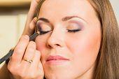 pic of makeup artist  - Work of make - JPG