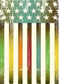 picture of gay flag  - Multicolor textured american flag - JPG