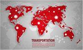 World Transportation And Logistics poster