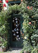 Overgrown Garden Gate