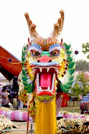 image of dragon  - The puppet dragon For faith - JPG