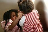 Children Fighting