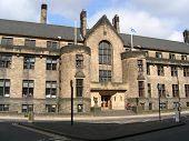 Glasgow University, Student Union Historic Building poster