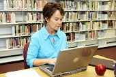 School Library - Research