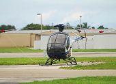 Kleine Private Hubschrauber