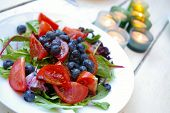 French Blueberry Salad