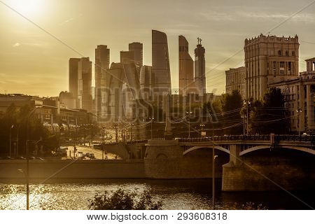 Sunny View Of Moscow With
