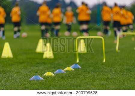Poster: Sports Soccer Football Training Practice