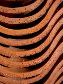 Red Clay Background