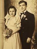 Vintage Familienfoto