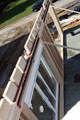 Newbuild Timber Wall With Glass Doors