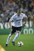 VALENCIA - NOVEMBER 20: Sofiane Feghouli during UEFA Champions League match between Valencia CF and