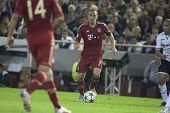VALENCIA - NOVEMBER 20: Franck Ribery during UEFA Champions League match between Valencia CF and FC
