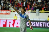 YEREVAN - OCT. 12:Gianluigi Buffon of Italy National Team during the match Armenia-Italy 1:3 2014 FI