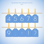 Blue alphabet set vol.4