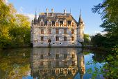 Azay-le-Rideau castle, France