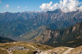 image of manali-leh road  - View from road trip from manali to leh ladakh - JPG