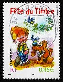 Postage Stamp France 2002 Boule And Bill, Comic Characters