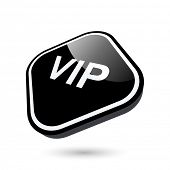 modern vip sign