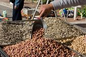 Fresh Organic Nuts And Sunflower Seeds