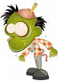 funny business cartoon zombie