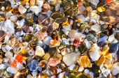 Multicolored Stones, Abstract Background.
