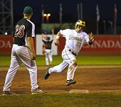 Canada Games Baseball Men Runner Speed Base