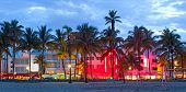 image of beach hut  - Miami Beach - JPG