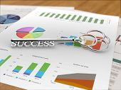 Key to Success - Financial Report Wood