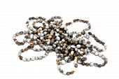 Isolated Collection Of Hand Made Zulu Bead Necklaces