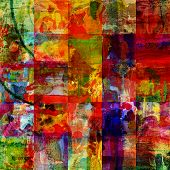 stock photo of graffiti  - abstract digital painting - JPG