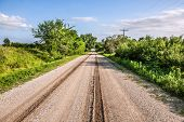 Rural road Western Iowa