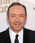 LOS ANGELES - JAN 16:  Kevin Spacey arrives to the Critics' Choice Movie Awards 2014  on January 16,