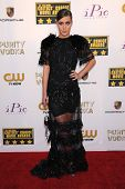 LOS ANGELES - JAN 16:  Adele Exarchopoulos arrives to the Critics' Choice Movie Awards 2014  on Janu