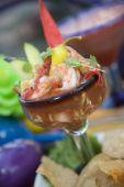 Coctel De Camarones - Cocktail de camarão mexicano