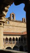 Cloister of Convento de las Duenas Salamanca Spain