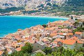 Baska, Krk, Croatia, Europe.