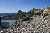 A rocky inlet