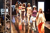 Fashion Show For Nancy Naguib All Model (on Runway)