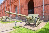 Soviet 107 Mm Gun M1910/30