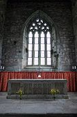 Altar Of The Abbey Church Of Iona, Scotland