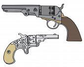 Wild West handguns