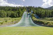 Complex Of Three Ski Jumps In Zakopane