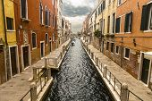 Colorful Venetian Canal