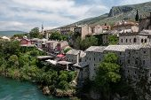 Old Muslim part of Mostar