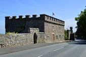 Ruthin Castle in North Wales
