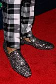 NEW YORK-JUL 30: TV host Nick Cannon shoes attend the 'America's Got Talent' post show red carpet at Radio City Music Hall on July 30, 2014 in New York City.