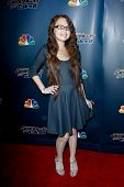 NEW YORK-JUL 30: Singer Mara Justine attends the 'America's Got Talent' post show red carpet at Radi