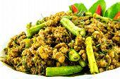 Spicy Pork,thai Food
