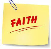 Vector Faith Message